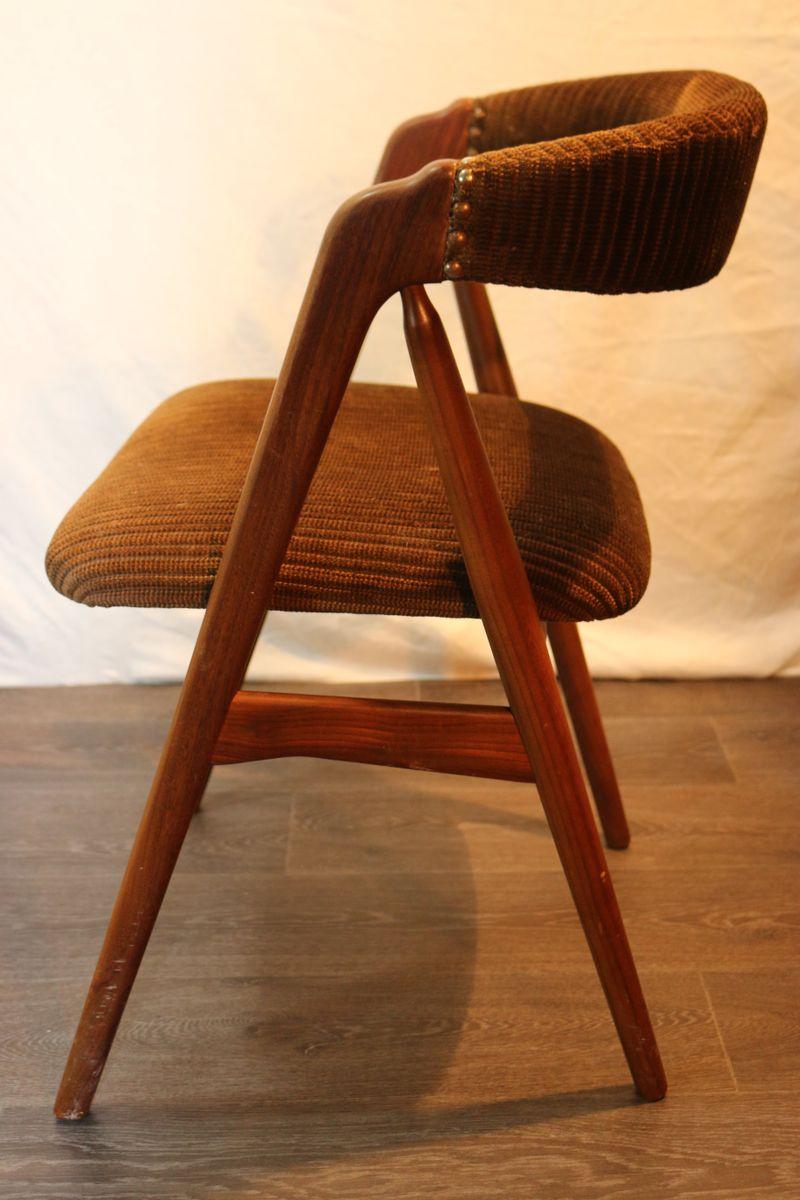 Chaise DAppoint Vintage En Bois Danemark