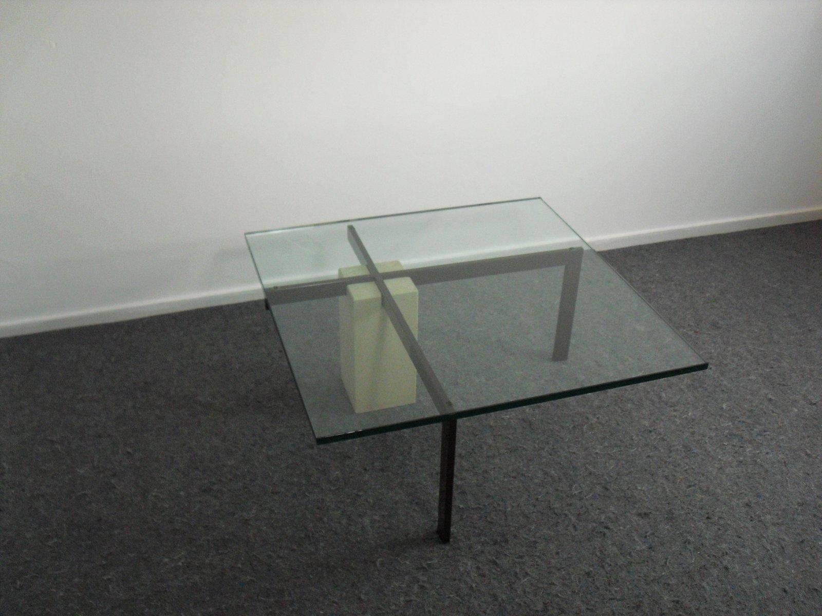 Table Basse Modèle KW1 Vintage par Hank Kwint pour Metaform, 1980s ... e63bf6eef676