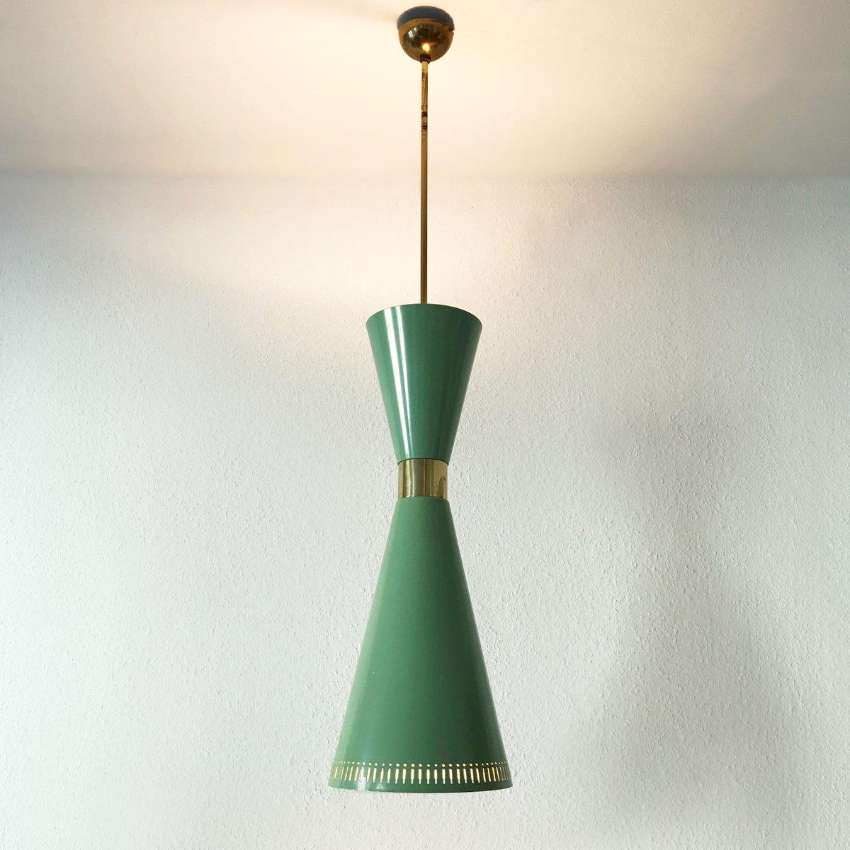 Vintage Diabolo Hängelampe von BAG Turgi, 1950er