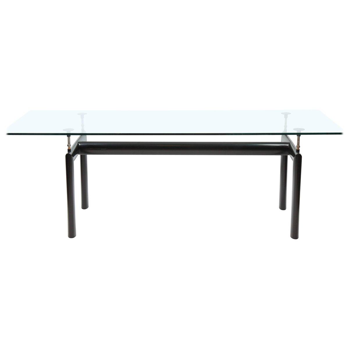 Glastisch von Le Corbusier für Cassina, 1980er