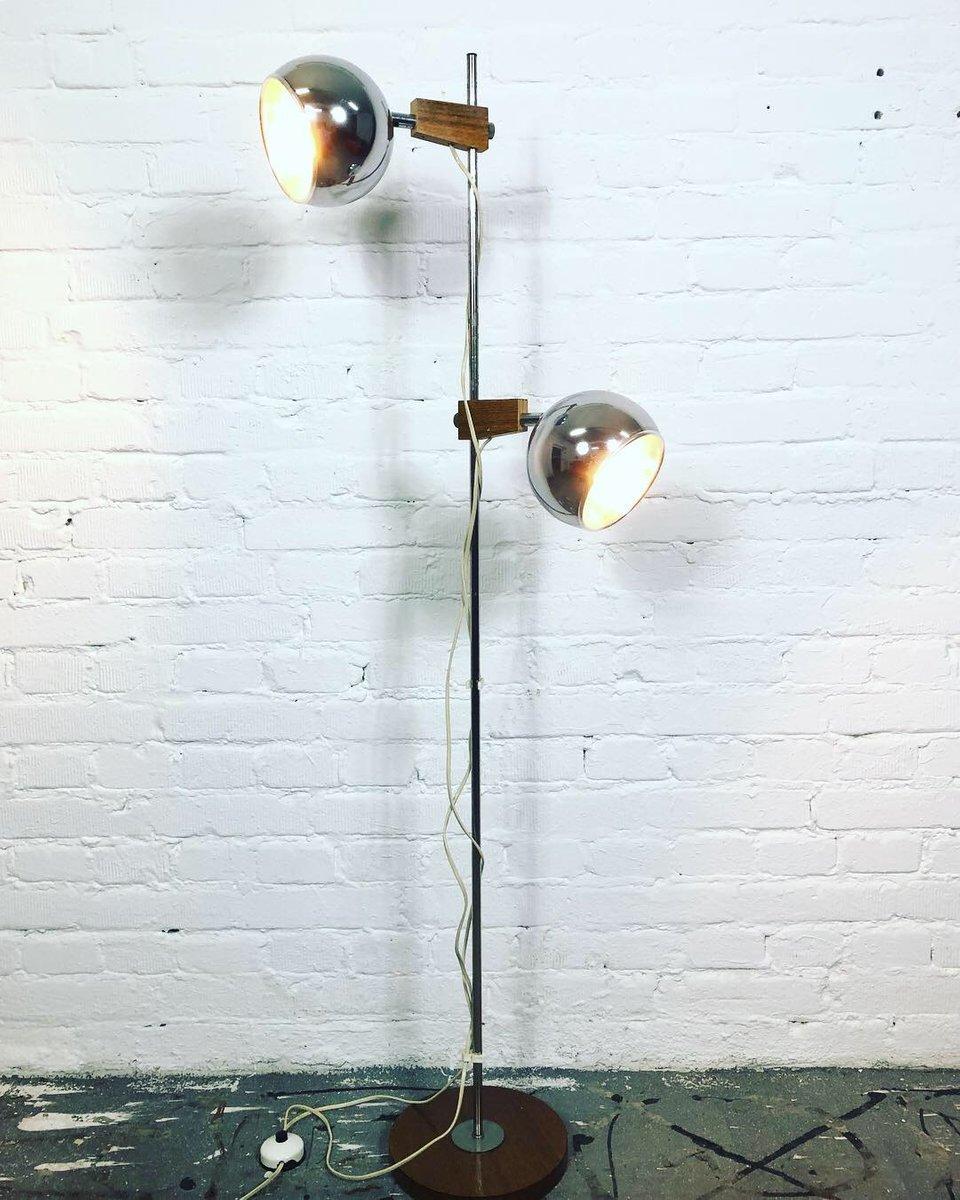 Space Age Stehlampe von Temde, 1960er