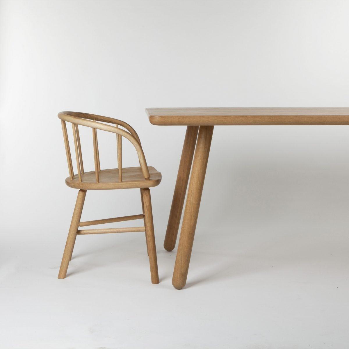 Tr s grande table de salle manger one en ch ne naturel par another country en vente sur pamono - Tres grande table salle a manger ...
