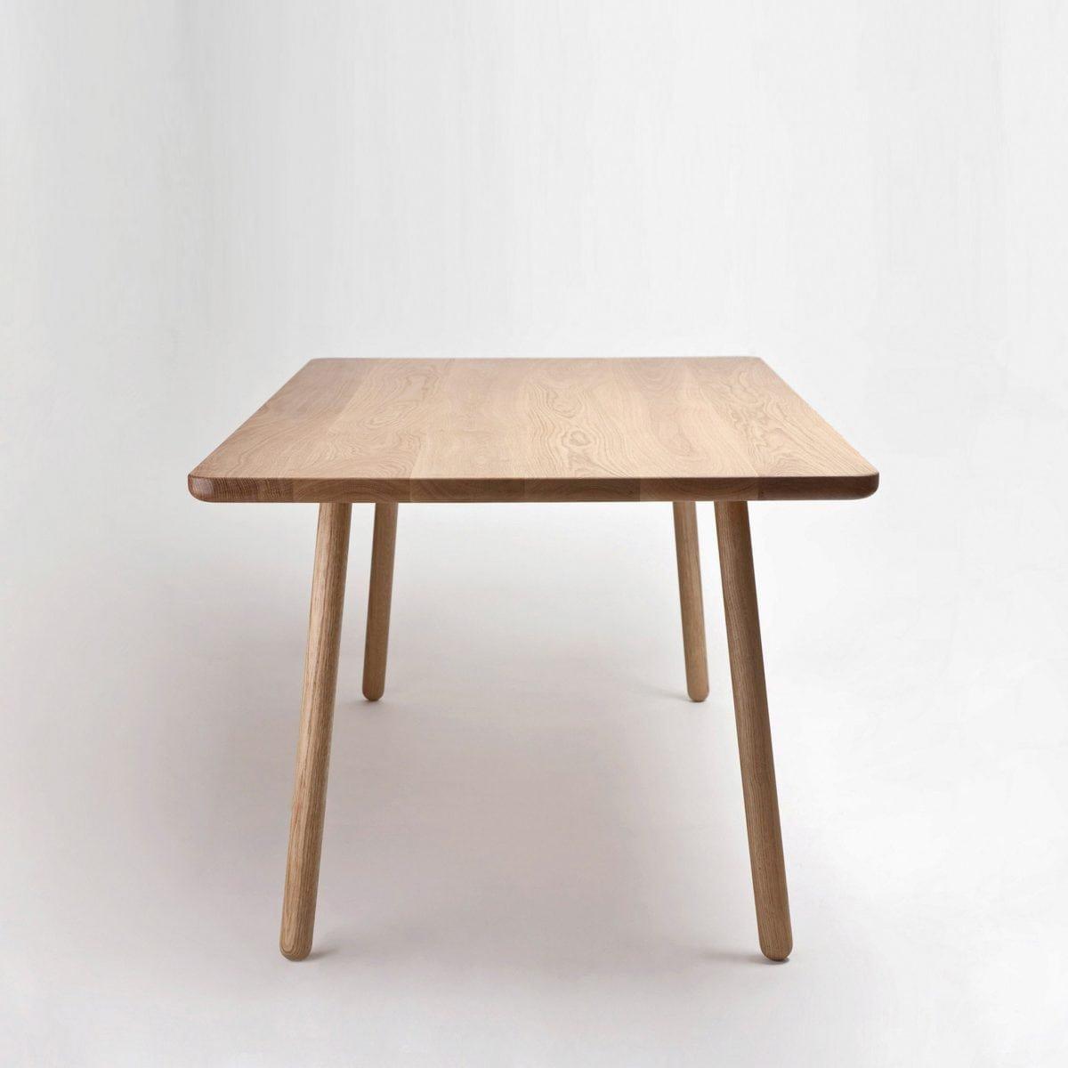 tr s grande table de salle manger one en ch ne naturel par another country en vente sur pamono. Black Bedroom Furniture Sets. Home Design Ideas