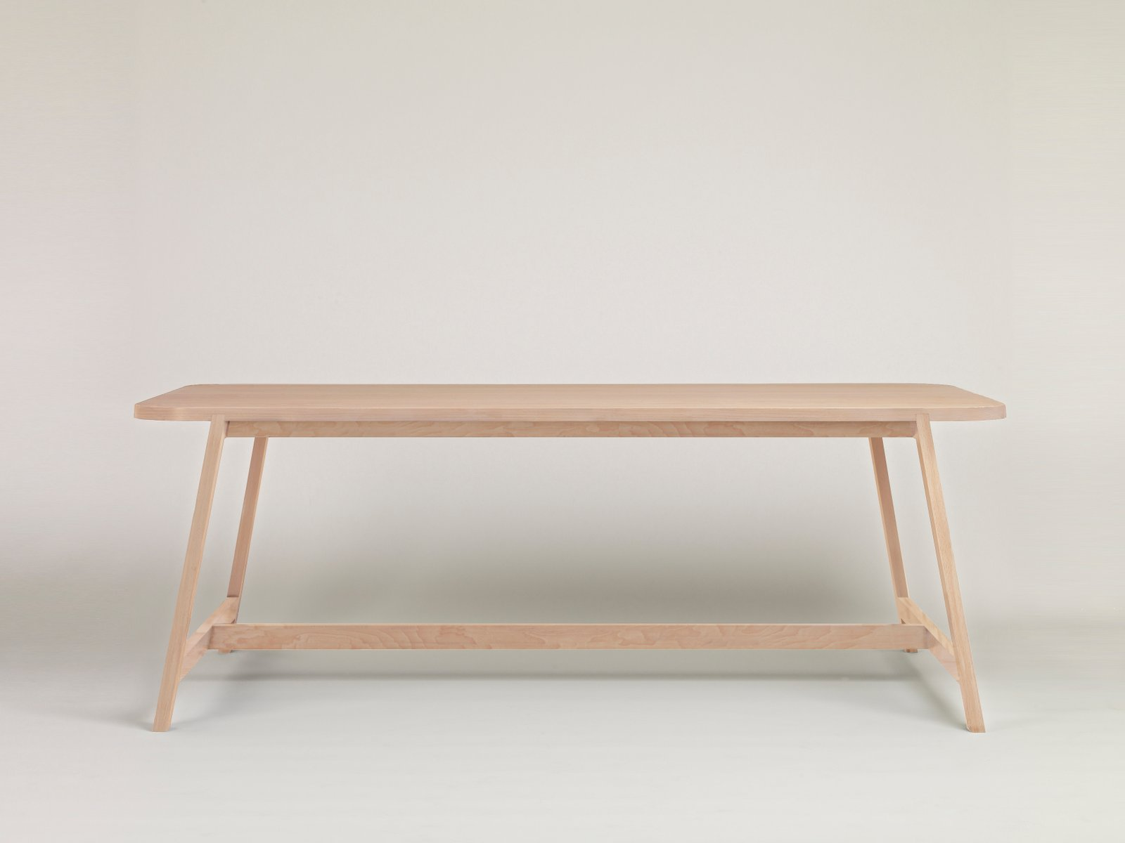 Small Beech Dining Table Three By Another Country