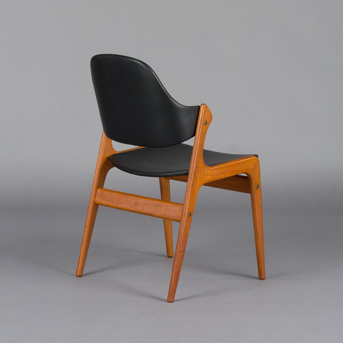 Dänischer Mid Century Stuhl Von Ejvind Johansson Für Ivan Gern
