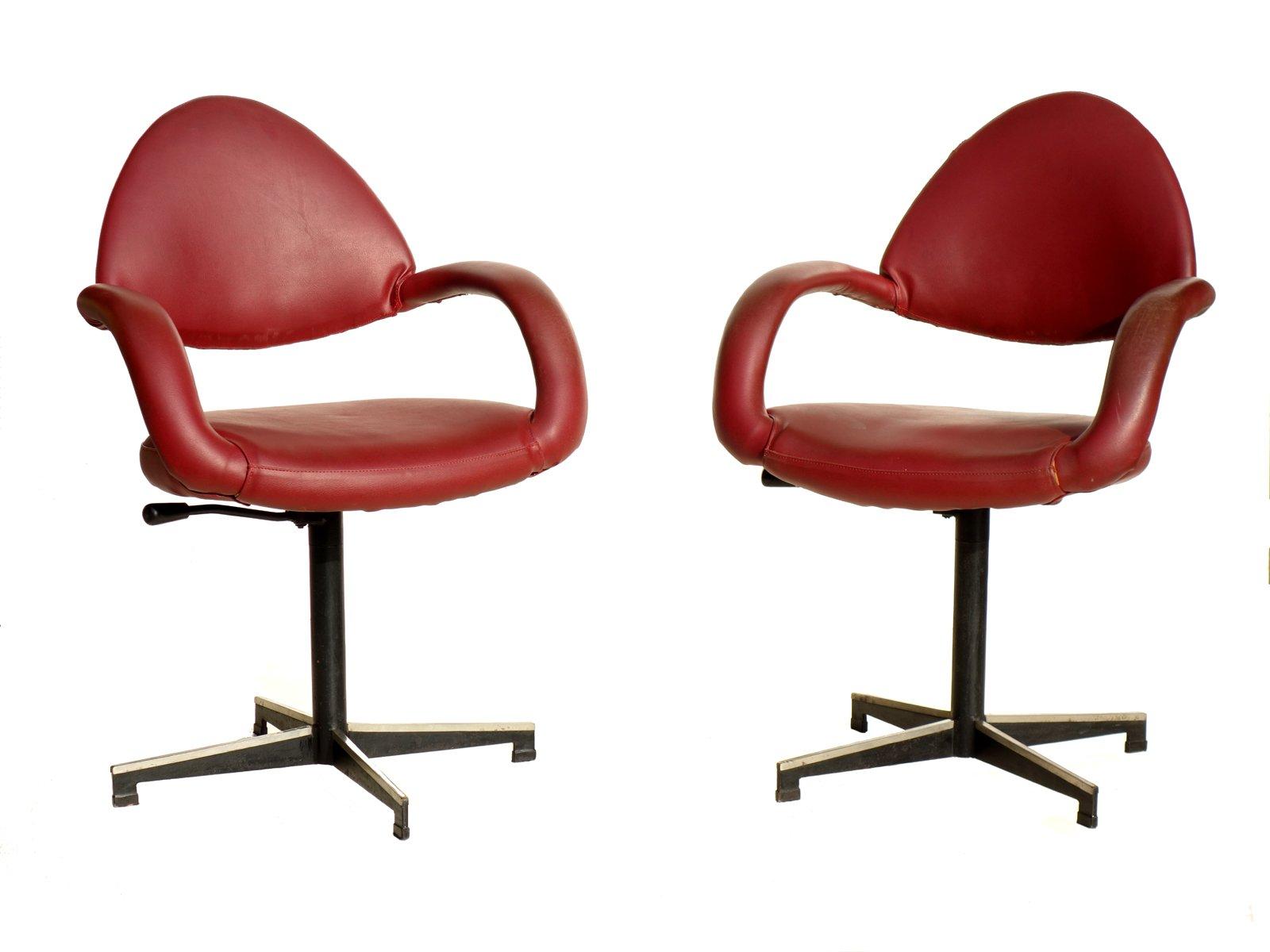 Sedie da ufficio di gastone rinaldi per rima anni 39 50 for Sedute da ufficio
