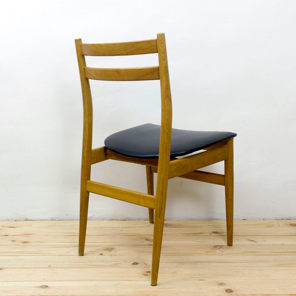 Skandinavische Stühle Aus Eschenholz 1960er 6er Set Bei