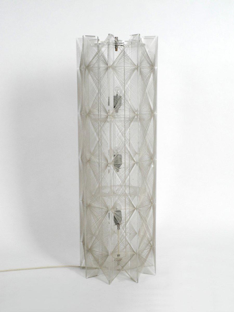 Pop Art Vintage Stehlampe von Paul Secon für Sompex