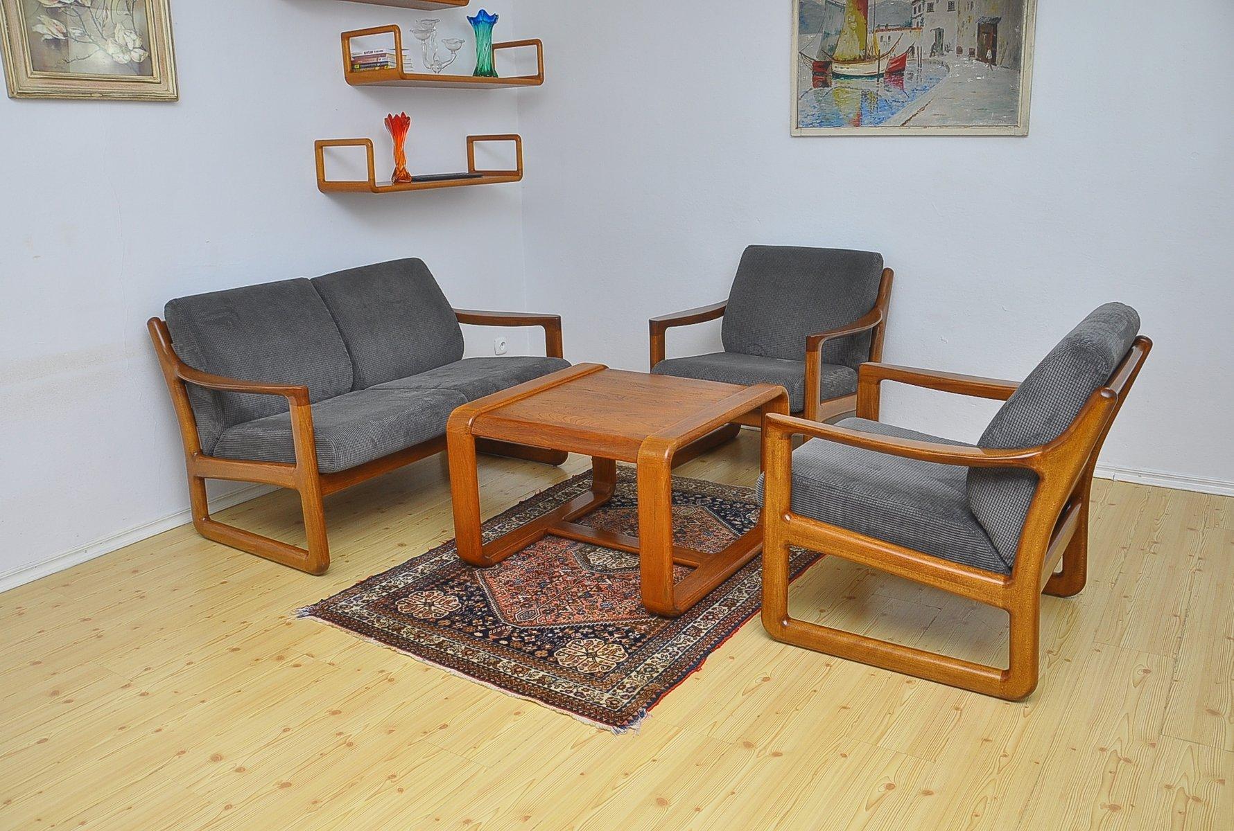 d nisches sofa von silkeborg 1960er bei pamono kaufen. Black Bedroom Furniture Sets. Home Design Ideas