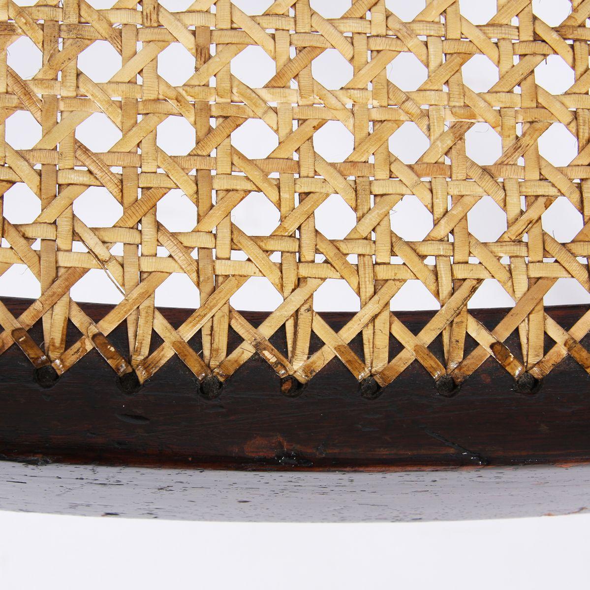antike st hle mit schilfrohr 2er set bei pamono kaufen. Black Bedroom Furniture Sets. Home Design Ideas