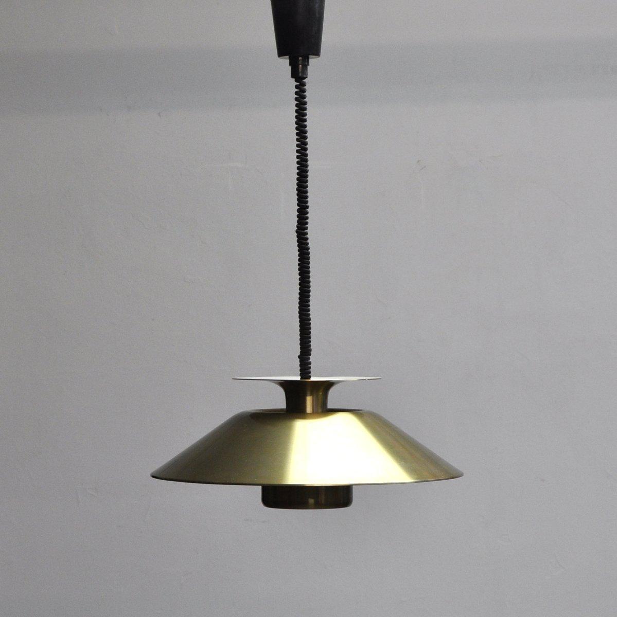 Dänische Vintage Deckenlampe, 1970er