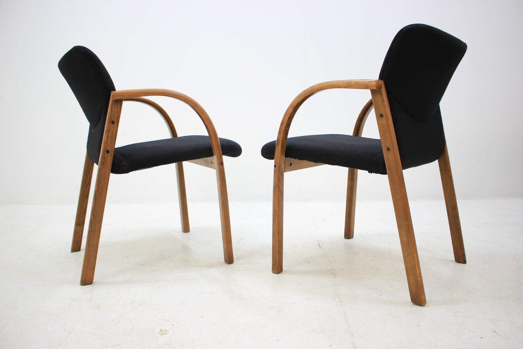 Sedie da ufficio vintage di form design anni 39 80 set di for Sedute da ufficio