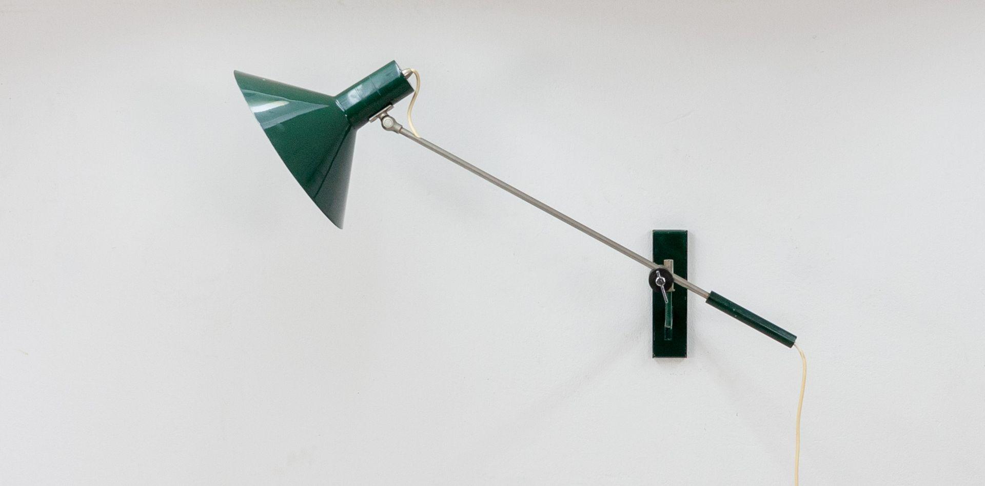 Wandlampe mit Gegengewicht von J. J. M. Hoogervorst für Anvia, 1964