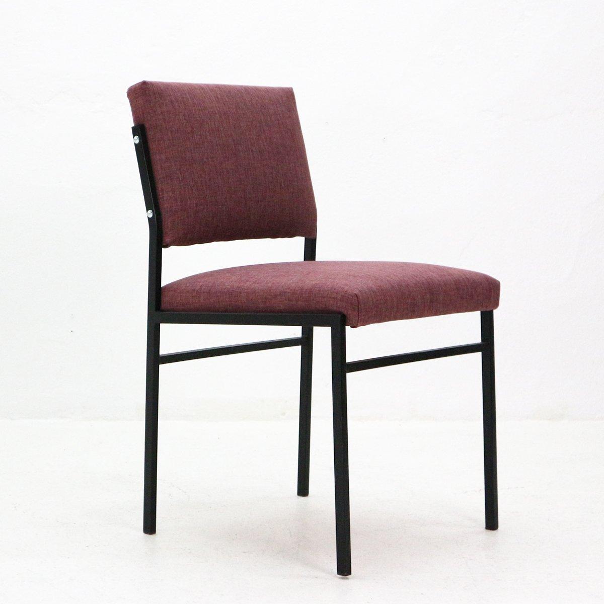 Stuhl Mit Gestell Aus Röhrenförmigem Stahl 1960er Bei