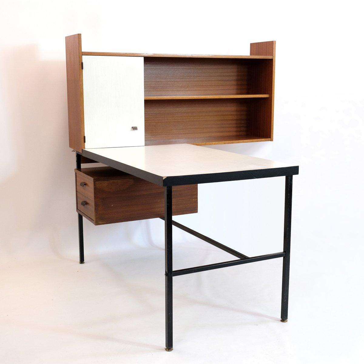 schreibtisch regal f r studierende 1960er bei pamono kaufen. Black Bedroom Furniture Sets. Home Design Ideas