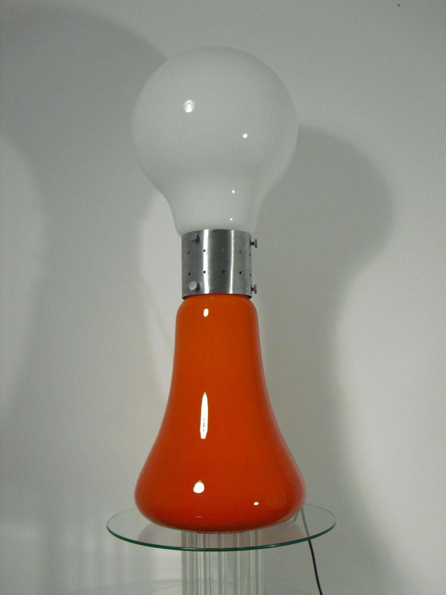 Space Age Birillo Stehlampe von Carlo Nason für Mazzega, 1970er