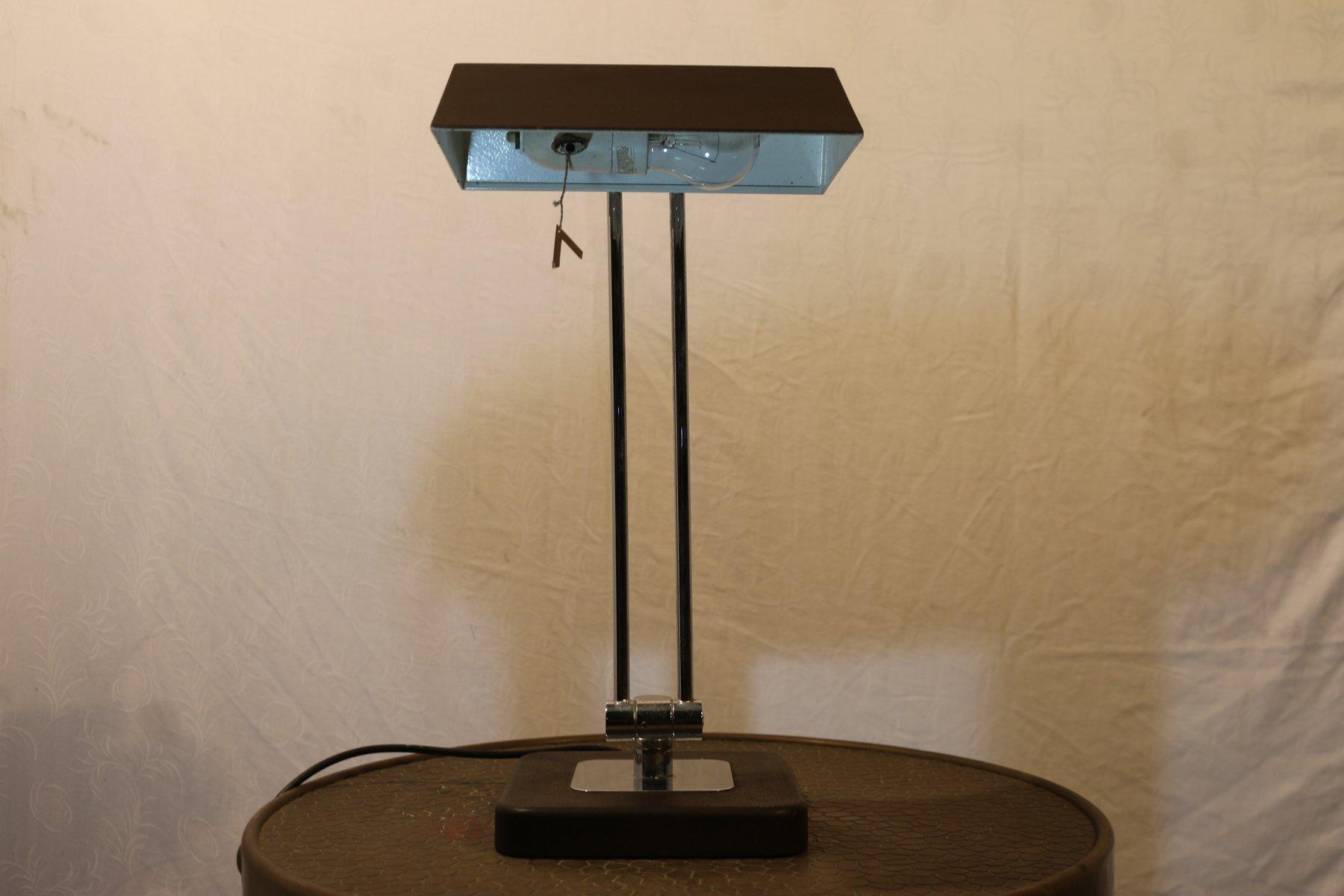 Schreibtischlampe mit Gelenk von Hillebrand, 1970er