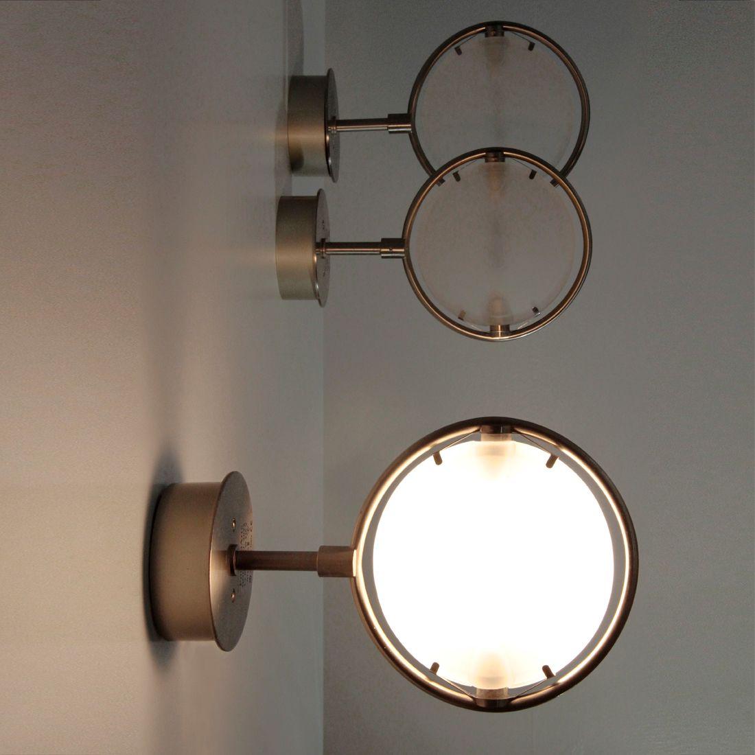 Nobi Wall Lights by Metis Lighting for Fontana Arte, 1990s, Set of 3 ...