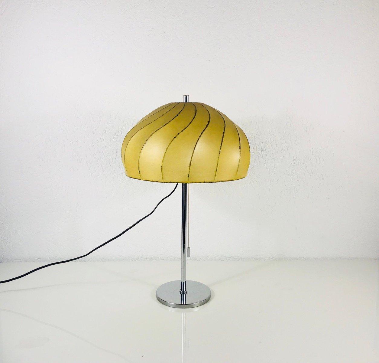 Große Vintage Cocoon Tischlampe, 1960er
