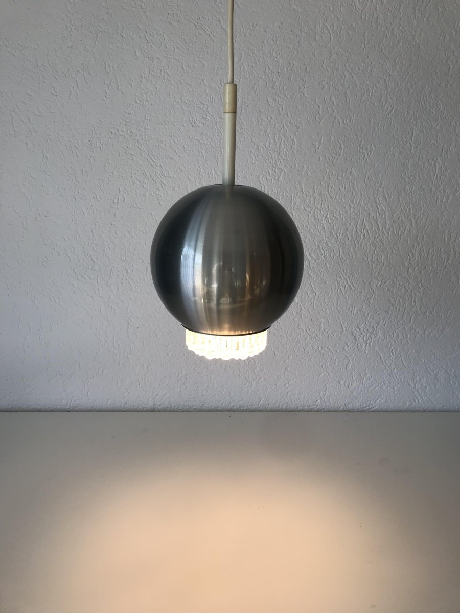 Vintage Metal Pendant Lamp From Staff 1970s For Sale At