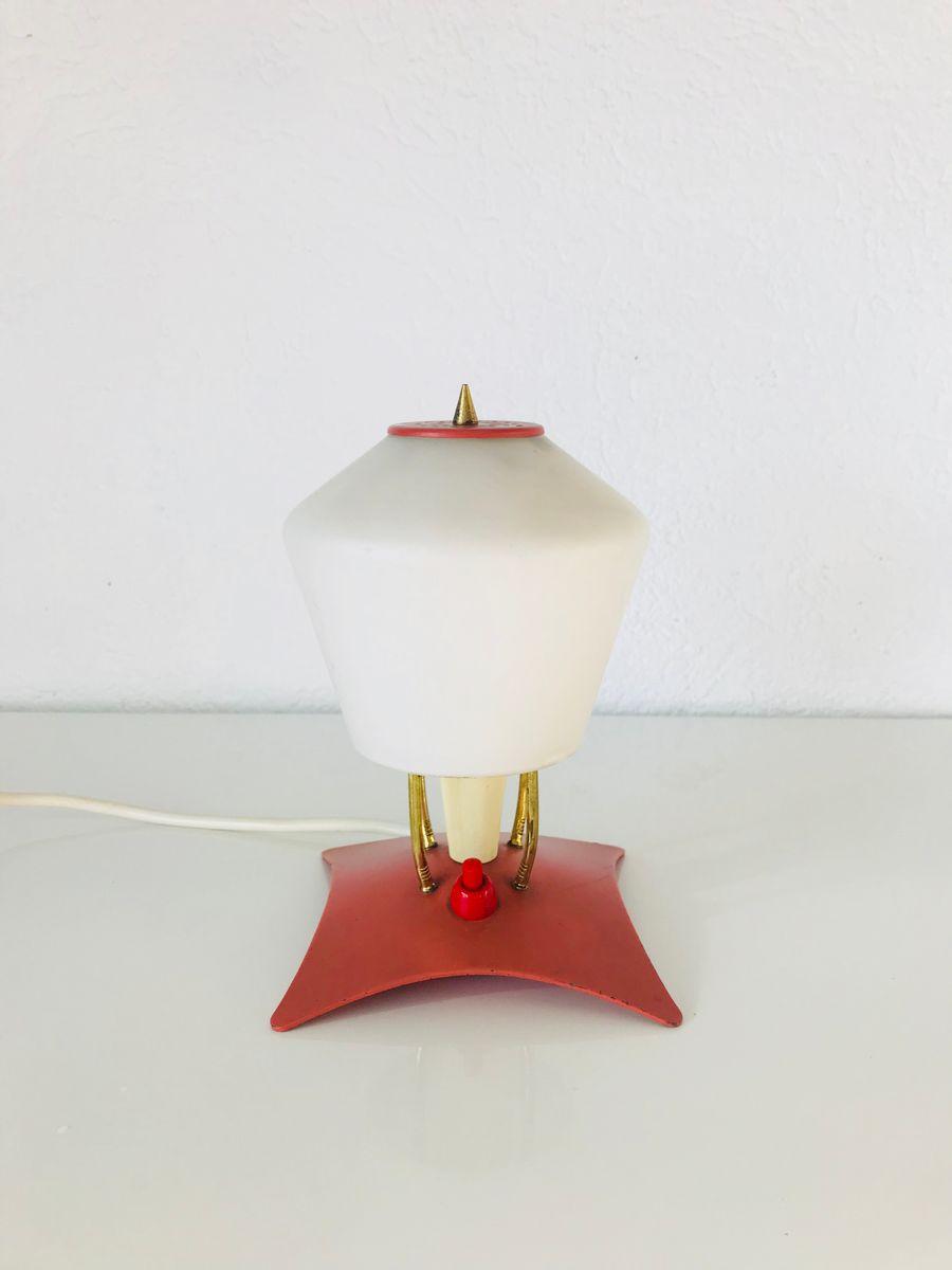 Kleine Mid-Century Sputnik Tischlampe, 1950er