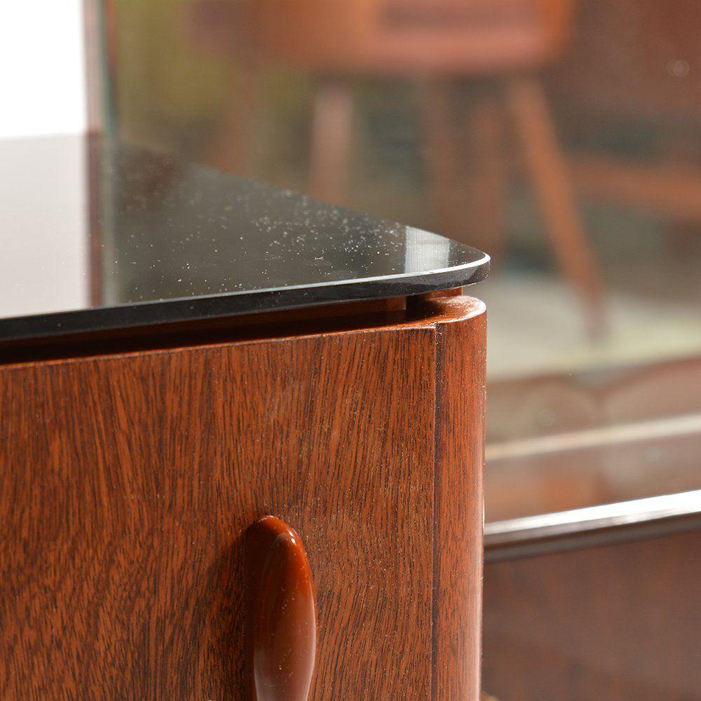 tschechischer mid century frisiertisch mit spiegel und. Black Bedroom Furniture Sets. Home Design Ideas