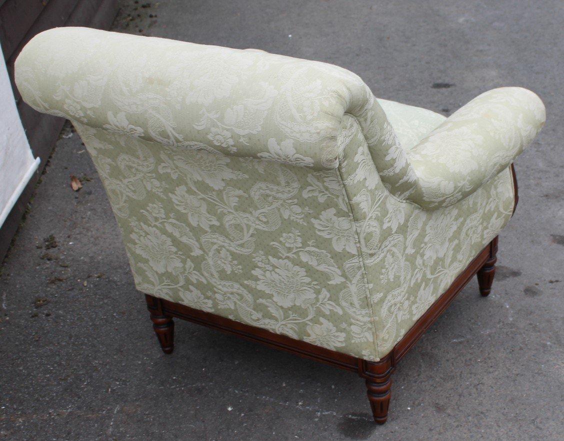 mid century sessel aus mahagoni 1960er bei pamono kaufen. Black Bedroom Furniture Sets. Home Design Ideas