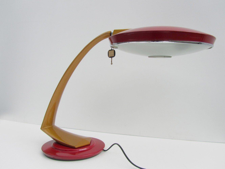 Spanische Mid-Century Boomerang Schreibtischlampe von Fase, 1960er