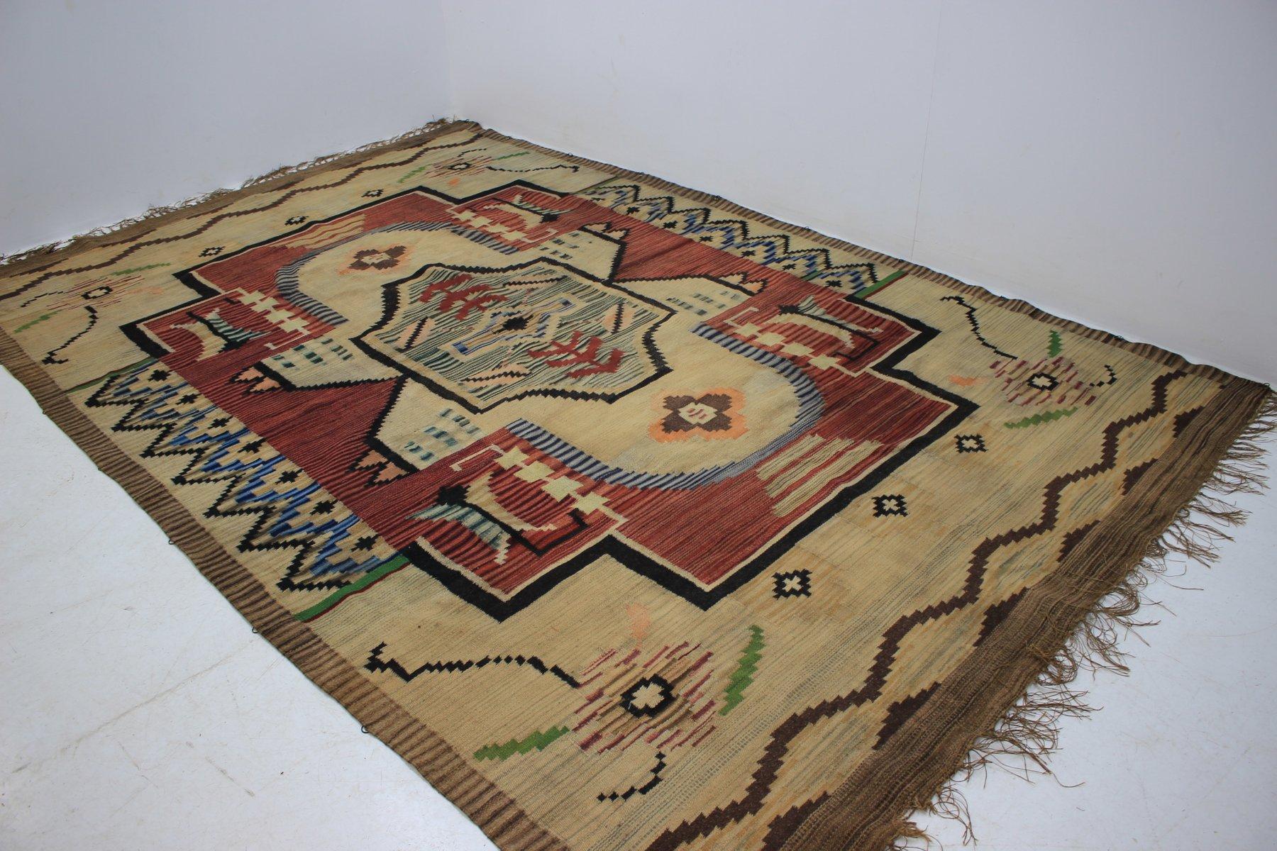 Art deco teppich 1930er bei pamono kaufen - Art deco teppich ...