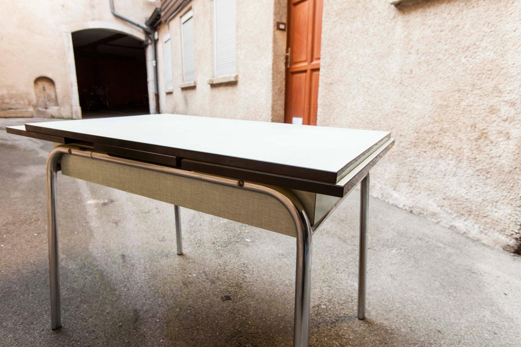 Table En Formica Vert Clair 1970s En Vente Sur Pamono