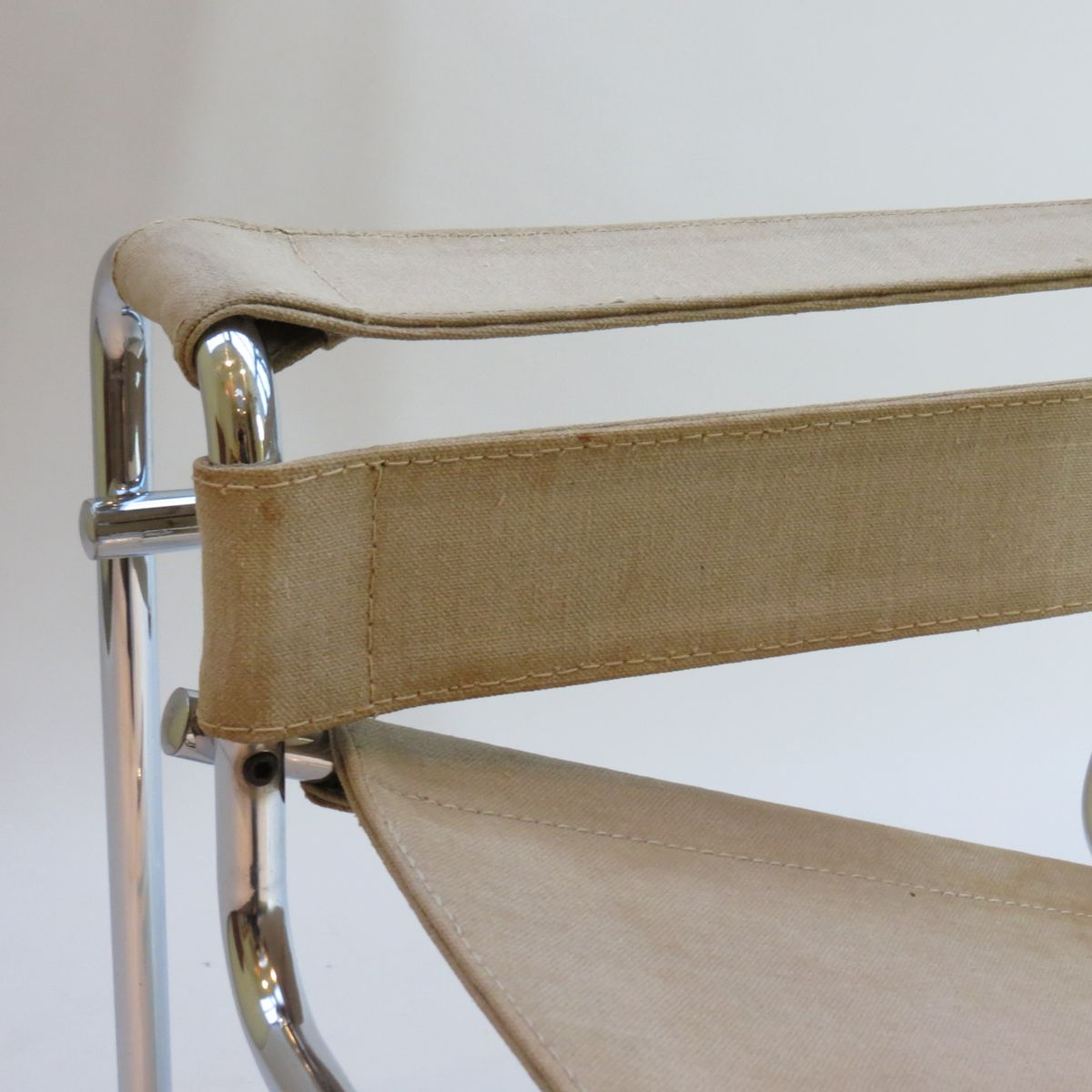 vintage b3 wassily stuhl von marcel breuer f r gavina bei. Black Bedroom Furniture Sets. Home Design Ideas