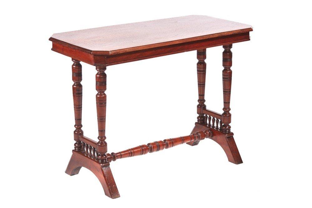 Viktorianischer Tisch aus Nusswurzel, 1880er
