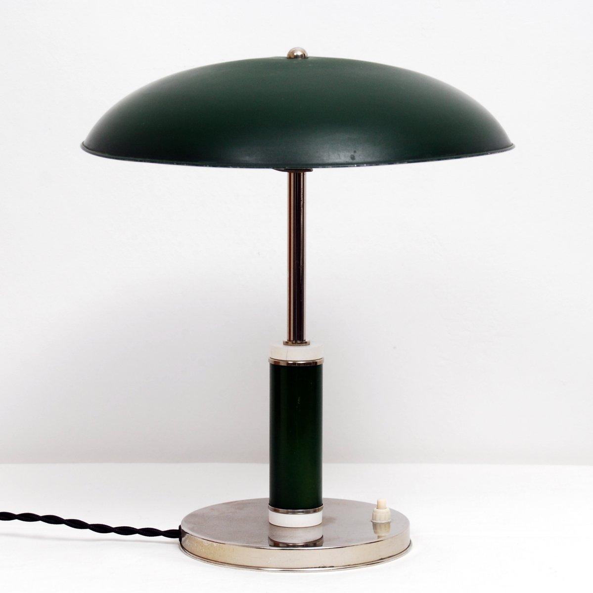 Schwedische Art Deco Grace Tischlampe, 1930er