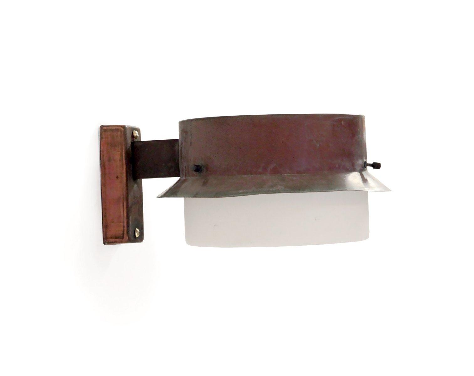 Schwedische Outdoor-Wandlampe aus Kupfer von Falkenbergs Belysning, 19...