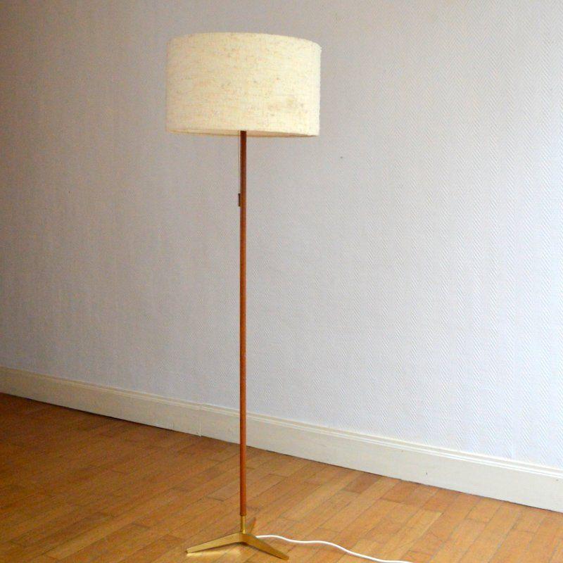 Vintage Stehlampe in skandinavischem Design