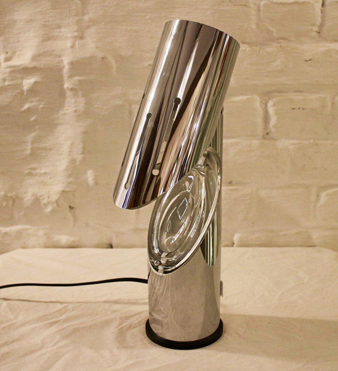 Space Age Tischlampe von Oscar Torlasco für Stilkronen, 1970er