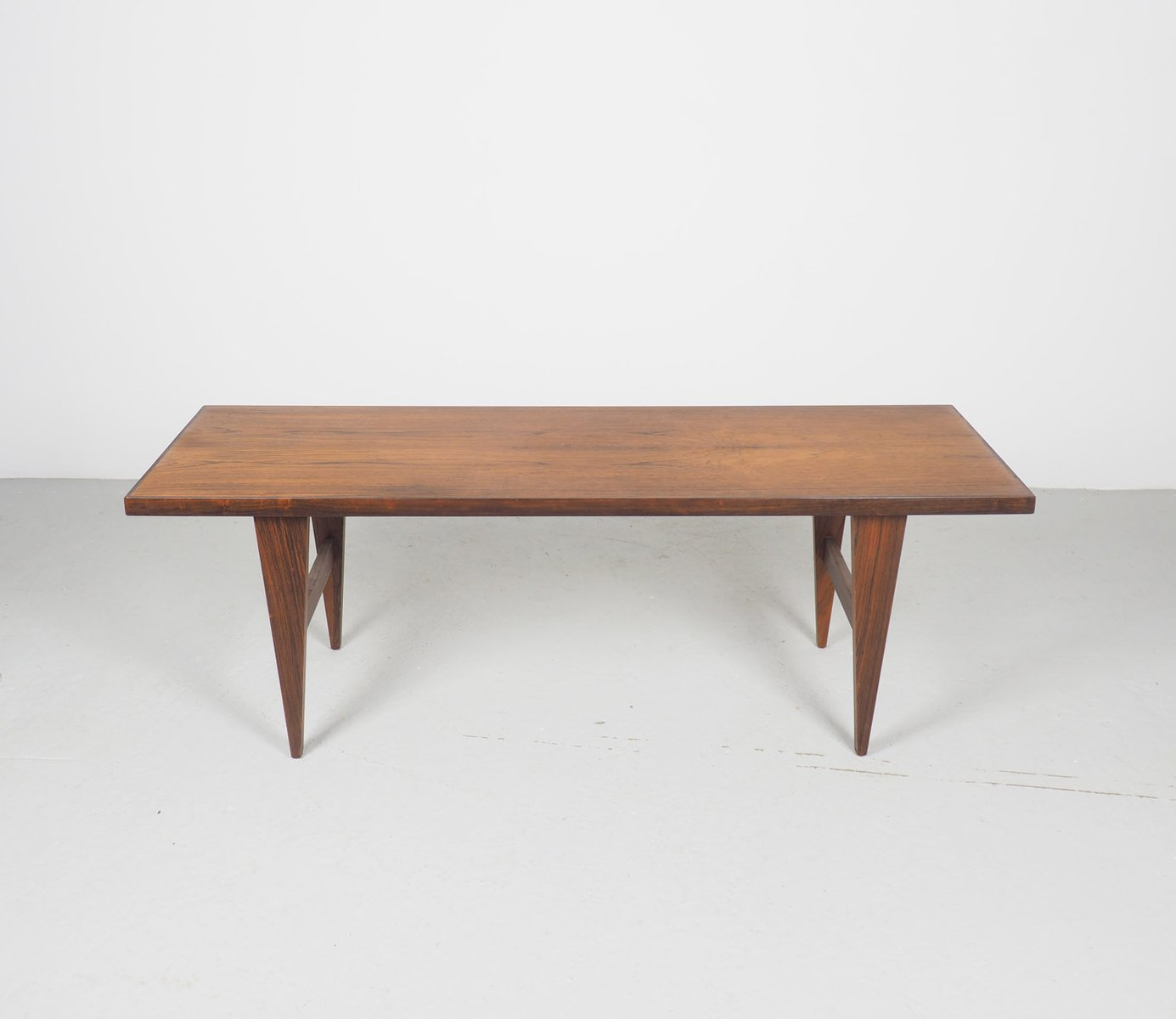 Vintage Danish Rosewood Coffee Table, 1960s For Sale At Pamono