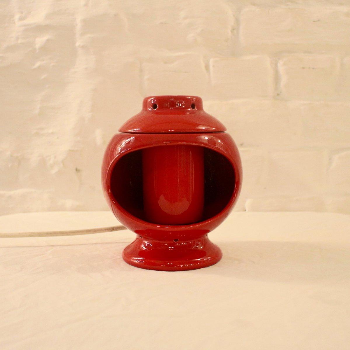 Italienische Space Age Keramiklampe
