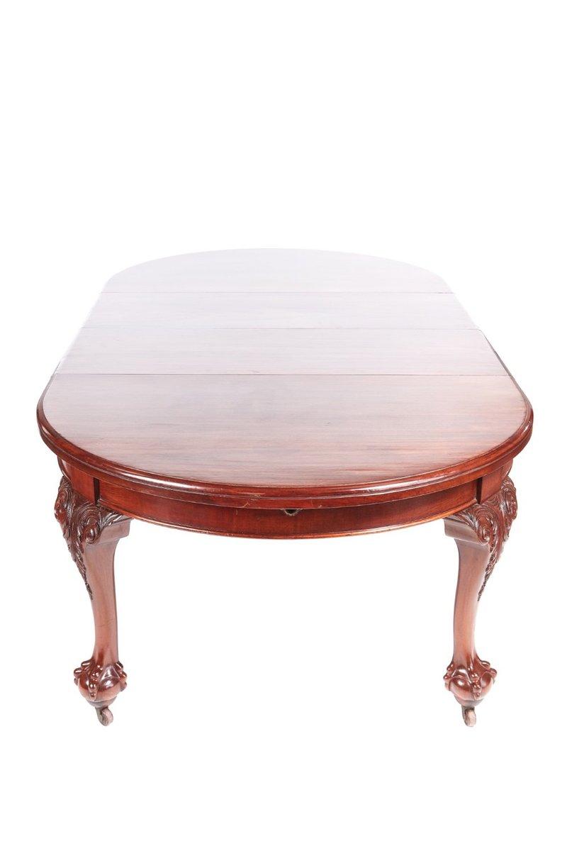 Table De Salle à Manger Extensible Victorienne Antique En