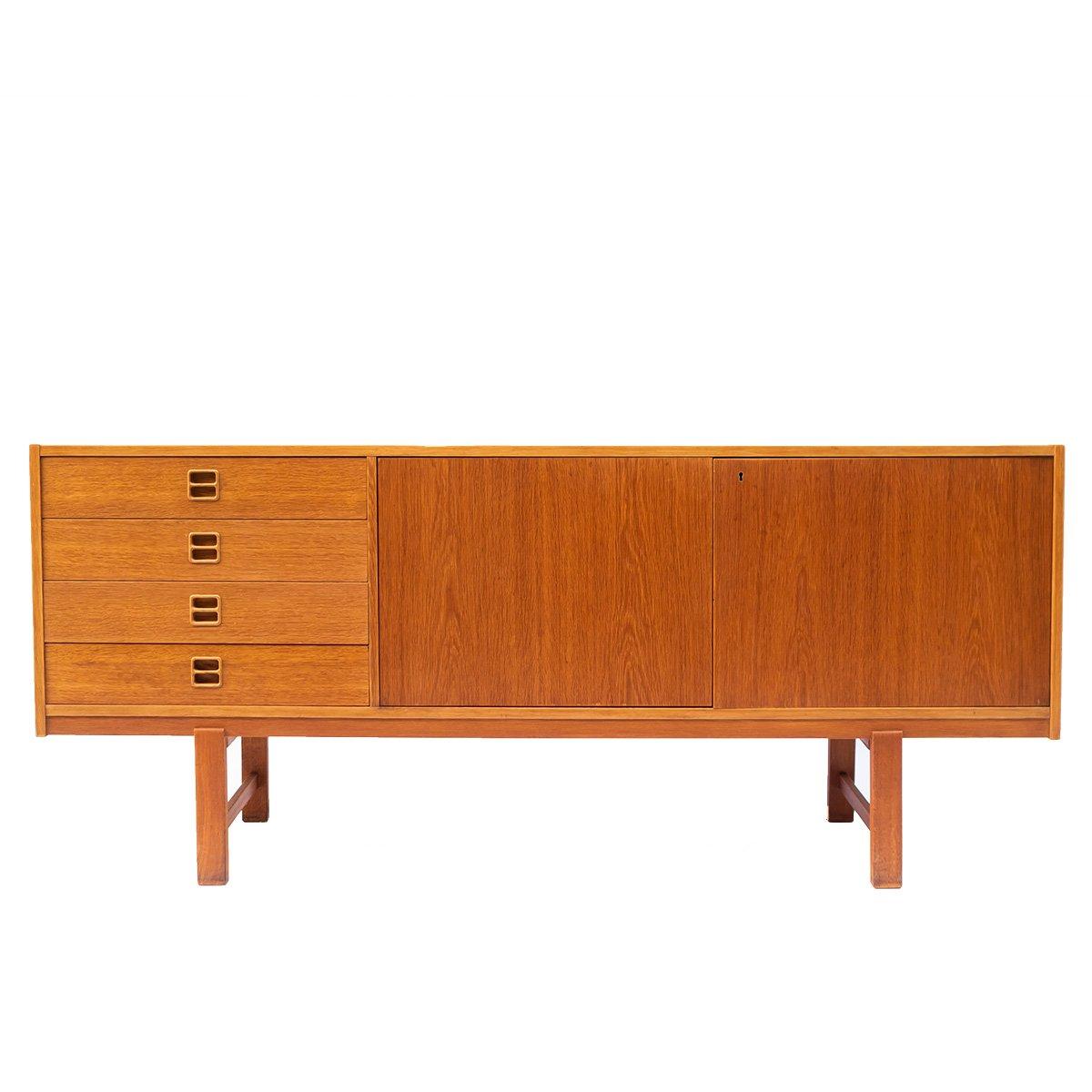 vintage sideboard aus eiche von ikea kanzlei broetzmann. Black Bedroom Furniture Sets. Home Design Ideas