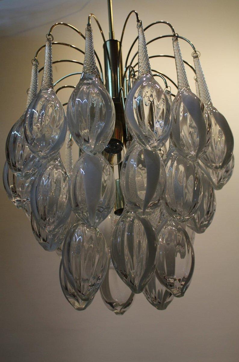 Moderne Vintage Kronleuchter aus Muranoglas