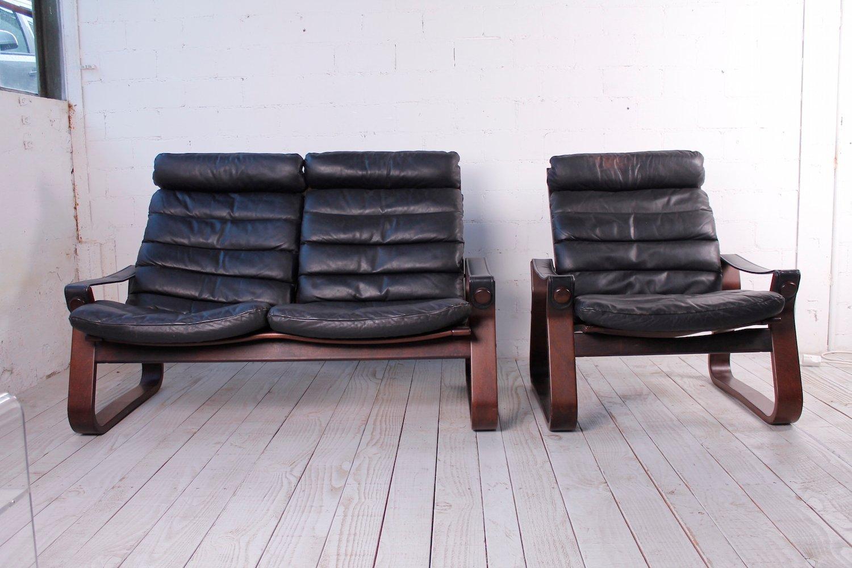 2 sitzer sofa und sessel von georg thams f r vejen polsterm belfabrik kanzlei broetzmann. Black Bedroom Furniture Sets. Home Design Ideas