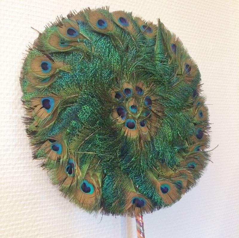 Face porn vintage peacock feather