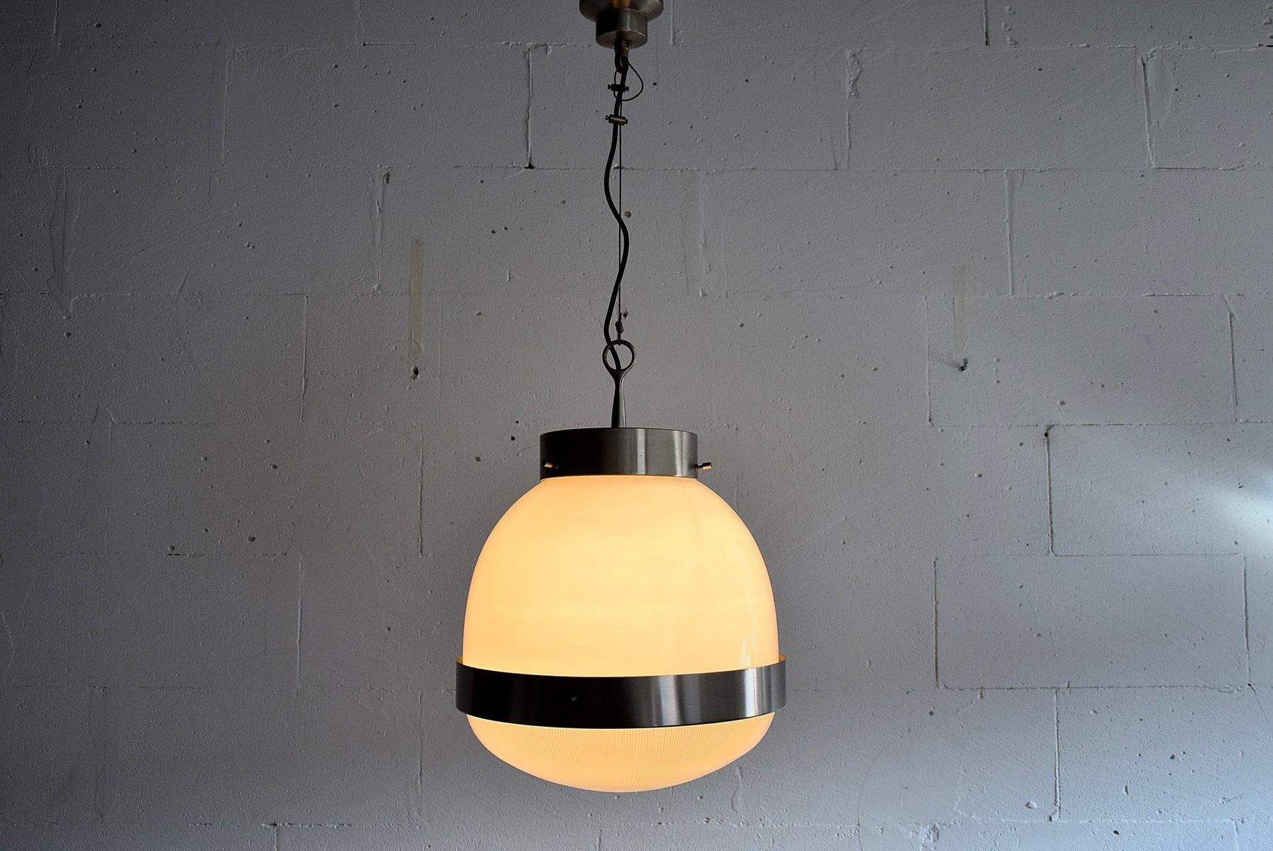 Vintage Delta Grande Deckenlampe von Sergio Mazza für Artemide