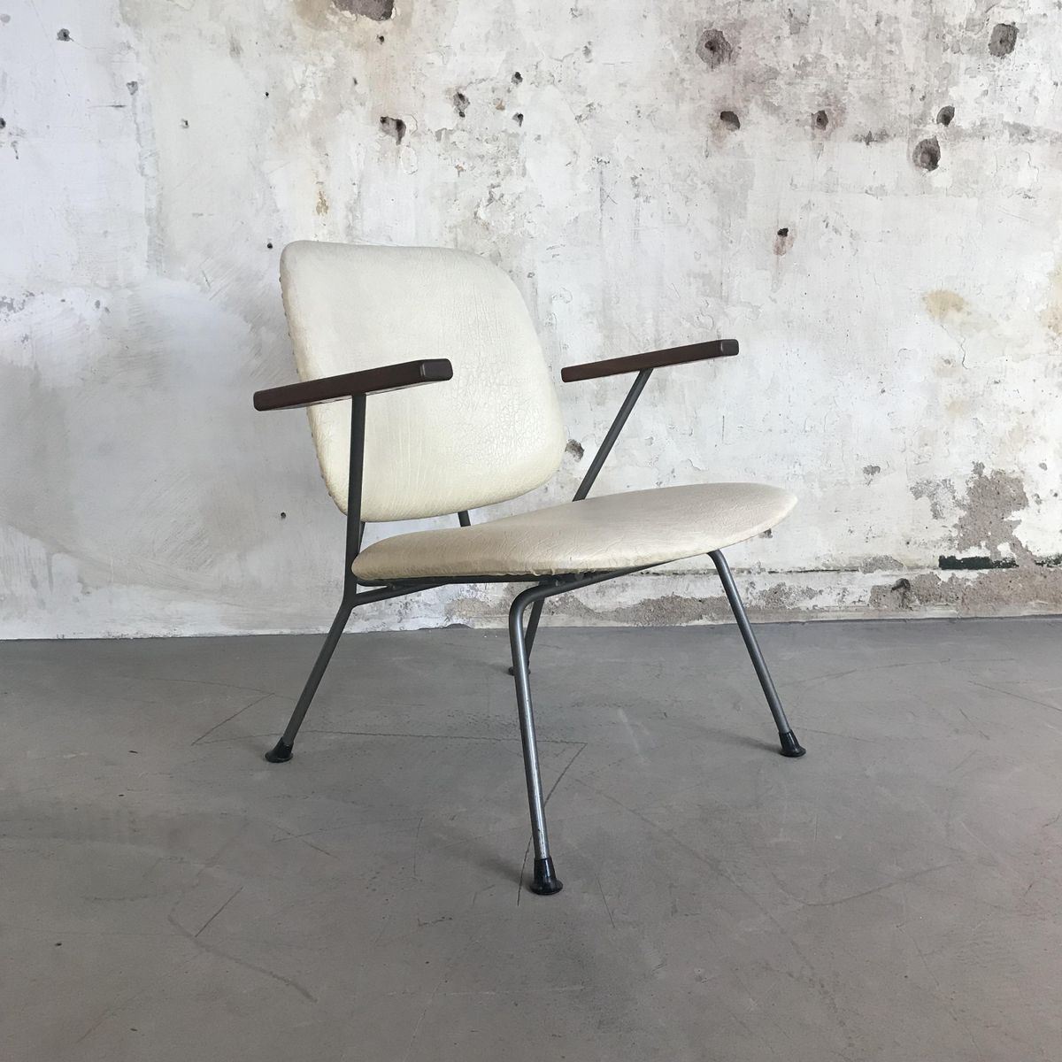 Mid century stuhl von w h gispen f r kembo 1950er aws velbert - Mid century stuhl ...