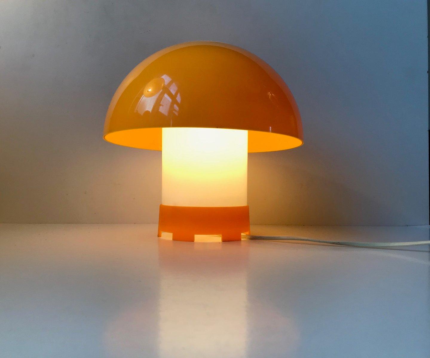 lampe de bureau jaune par bent karlby pour ask belysninger danemark 1970s en vente sur pamono. Black Bedroom Furniture Sets. Home Design Ideas