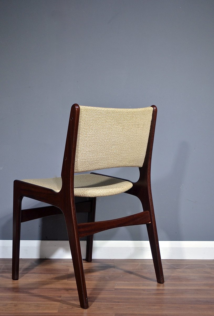Mid Century Danish Model 89 Rosewood Chairs By Erik Buch