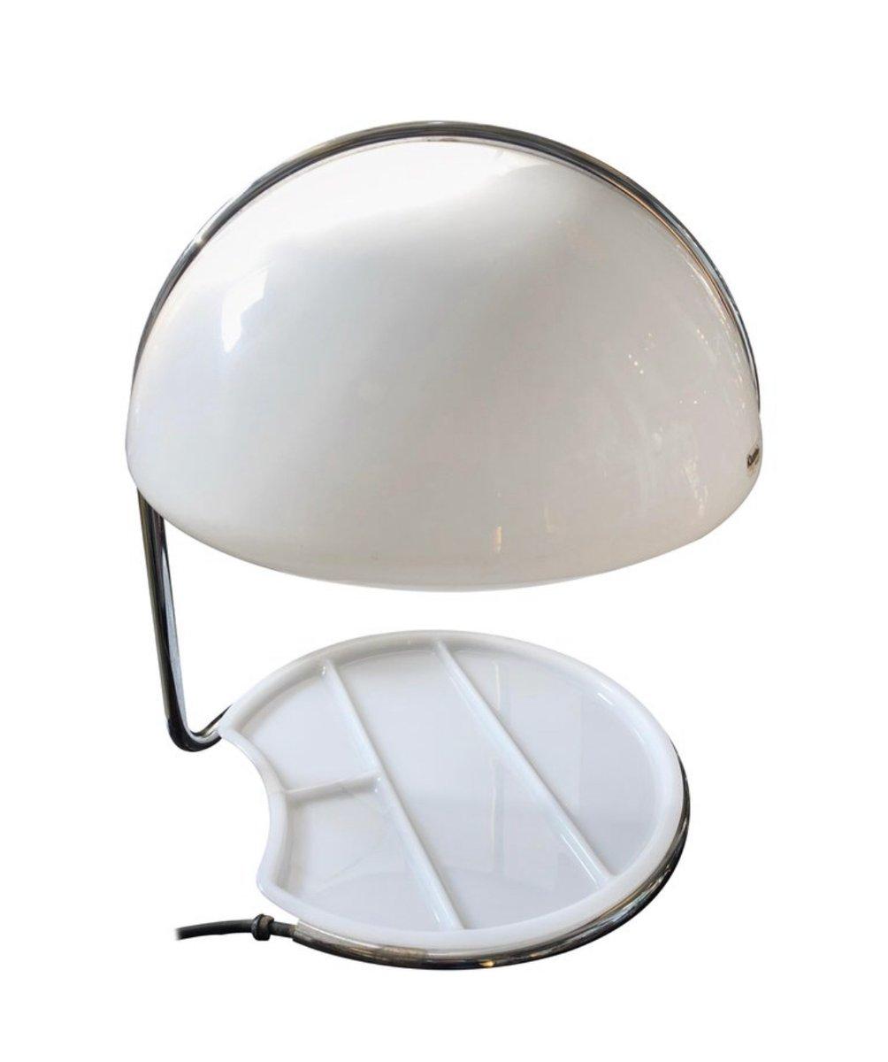 Space Age Tischlampe mit Schirm in Muschel-Optik von Buttura & Masons ...
