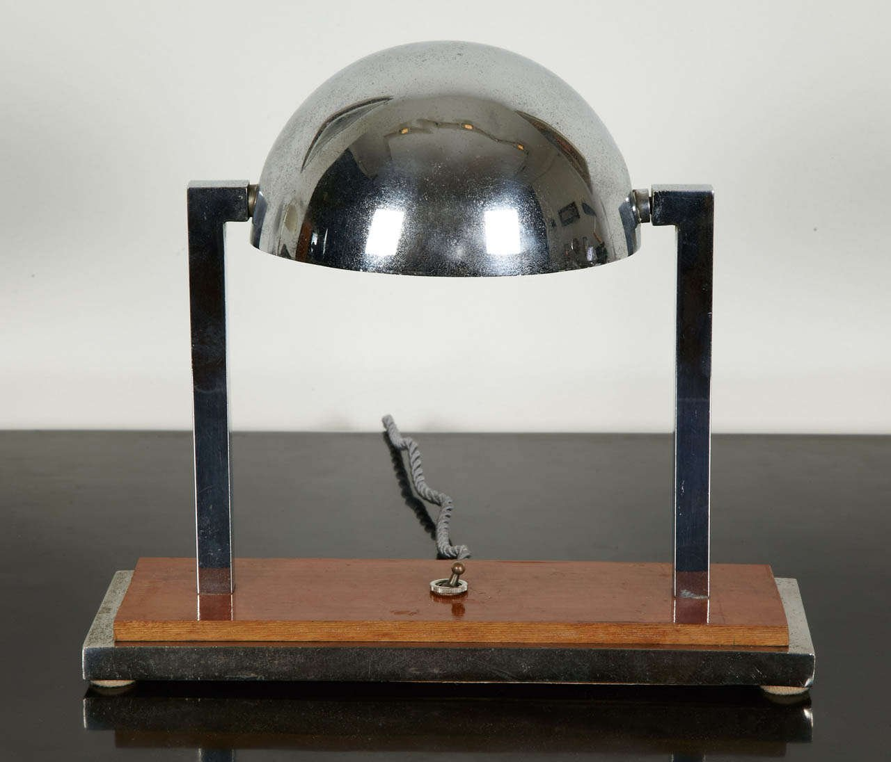 Diane Desk Lamp by Jacques Adnet, 1930s