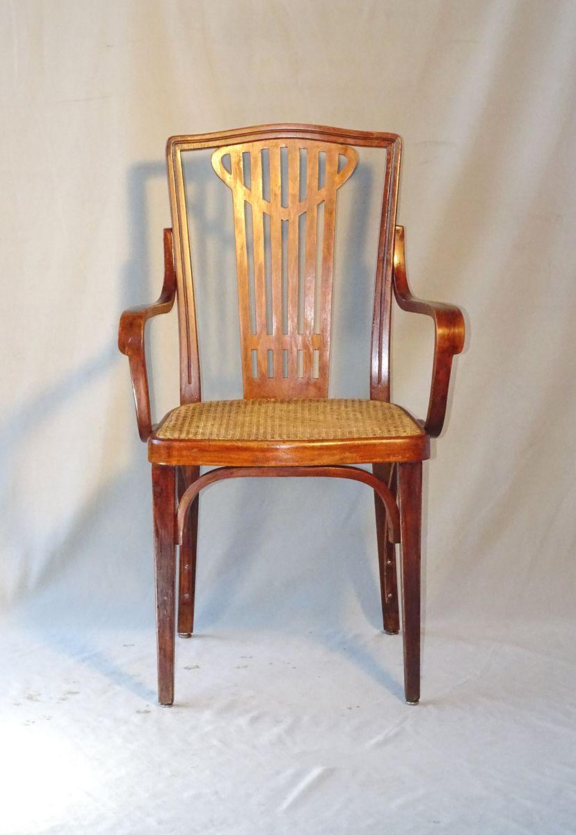 Wiener Secession Nr. 732 Stuhl von Thonet, 1914